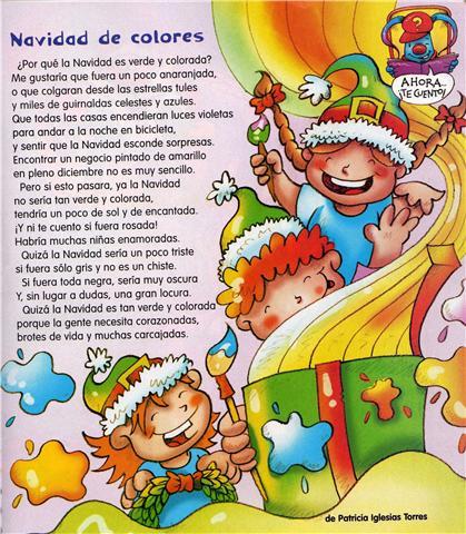 Navidad de Colores ~ Rimas para Niños