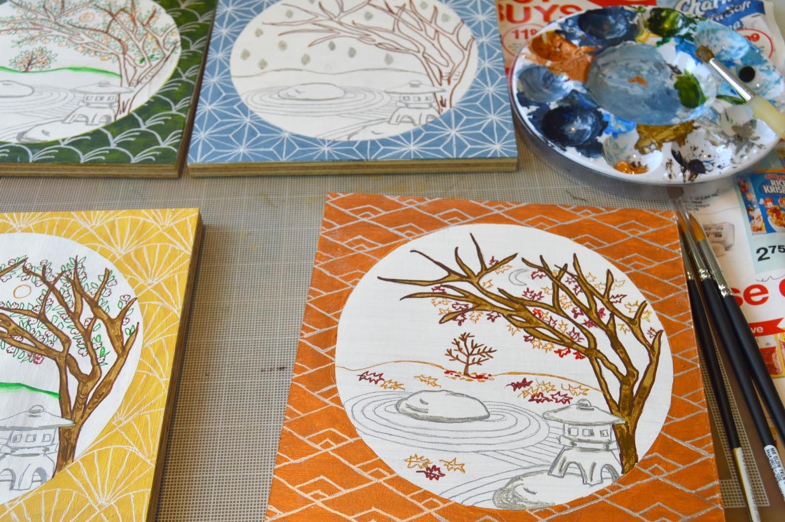 robin phillips studio inspirational art design japanese garden