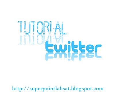 tutorial twutter
