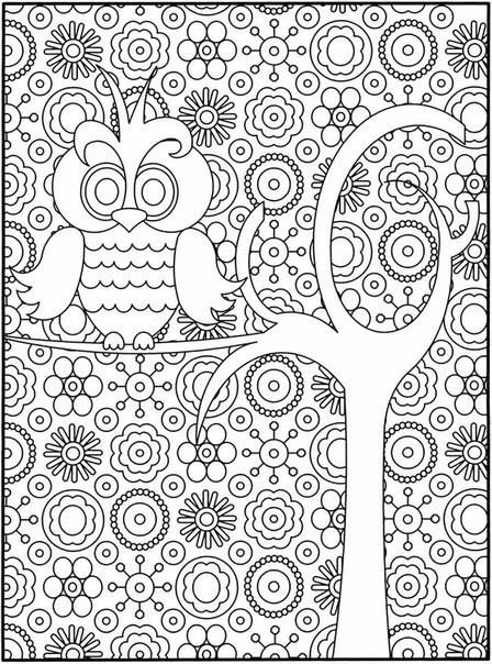 dibujos para colorear y relajarse