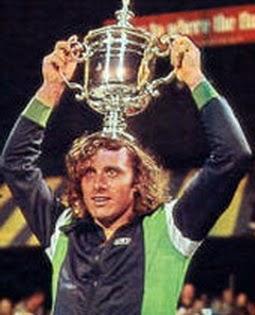 ROLAND GARROS 1977 - VILAS CAMPEON