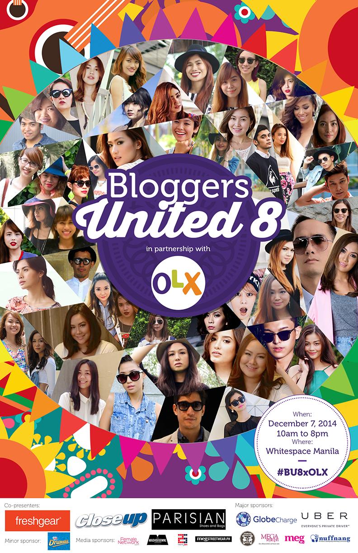 BLOGGERS UNITED 8 X OLX