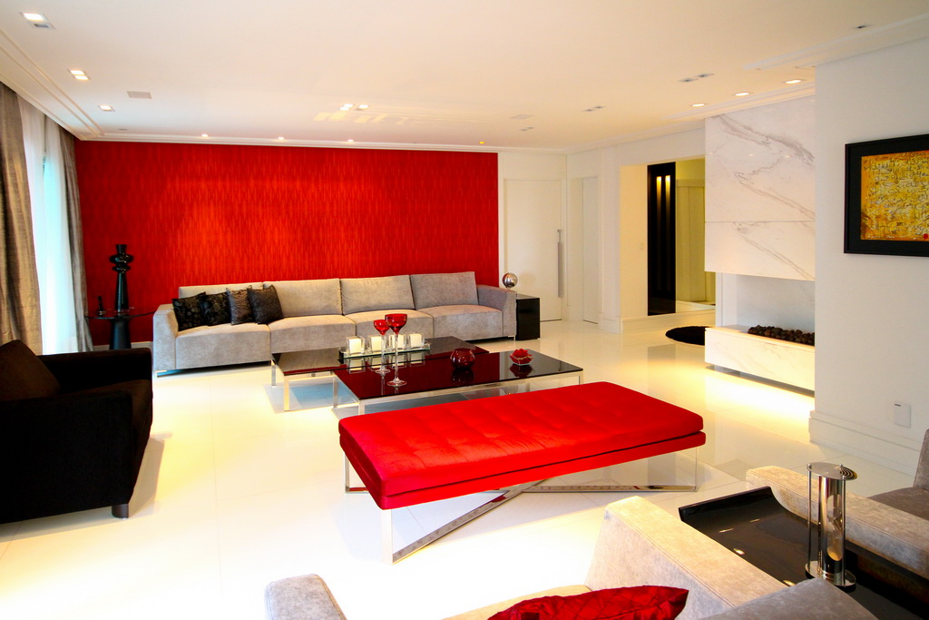 Decoracao De Sala Vermelho ~ decoracao de sala vermelho e pretomarmoglass une a sutileza de sua
