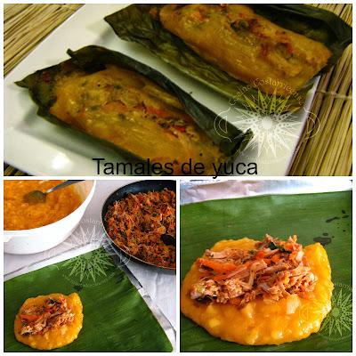 Cocina costarricense tamales yuca al horno - Como cocinar yuca ...