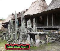 Batu Altar Sesaji