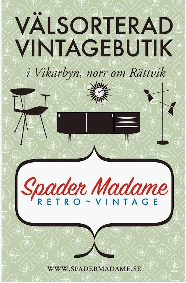 Spader Madame Retro Vintage