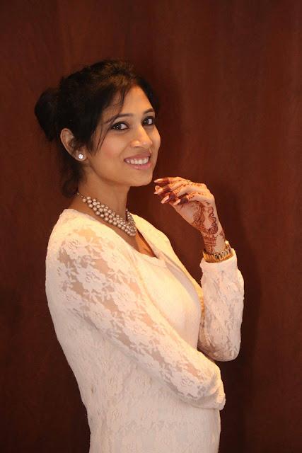 Vandhitha Latest Photos in White Skirt