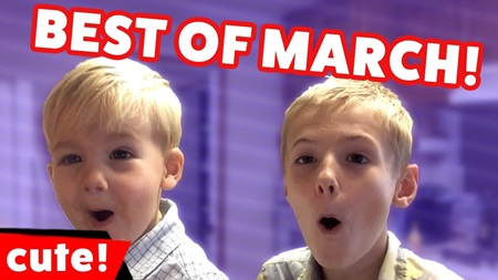Funniest Cute Kids Video Bloopers Best of March Monthly Compilation