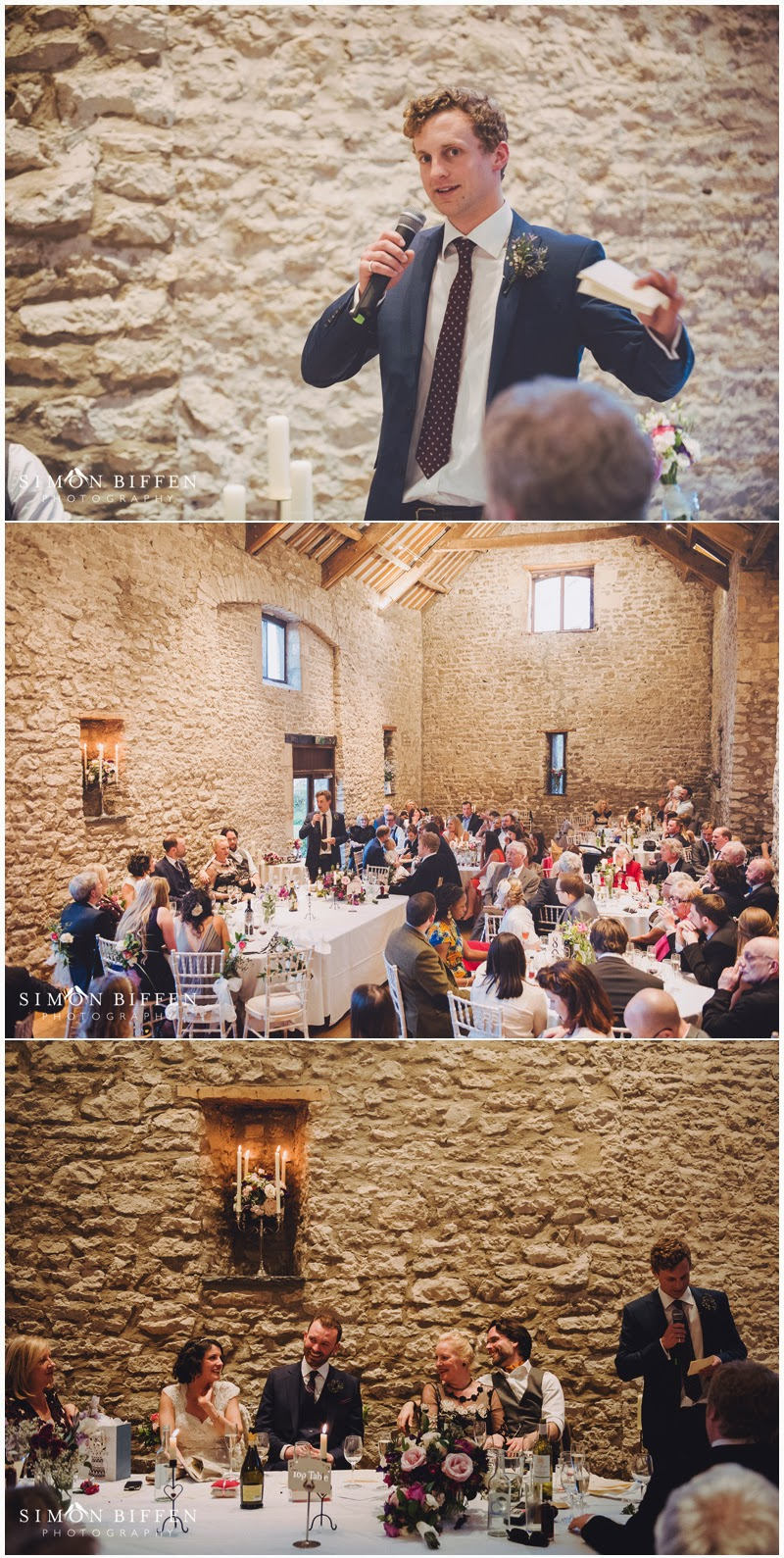 Best man speech at Priston Mill wedding