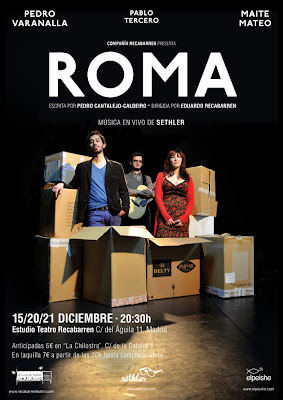 Sethler obra de teatro Roma