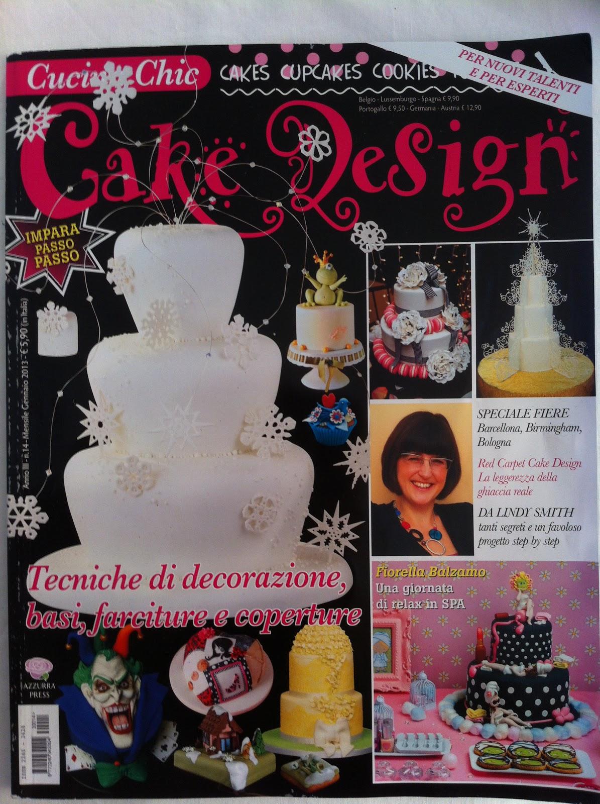PASSO PASSO TORTA INVERNALE SU CUCINA CHIC CAKE DESIGN-by ...
