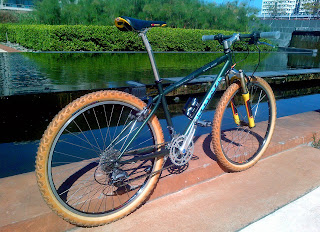 retro Kona Explosif with RockShox