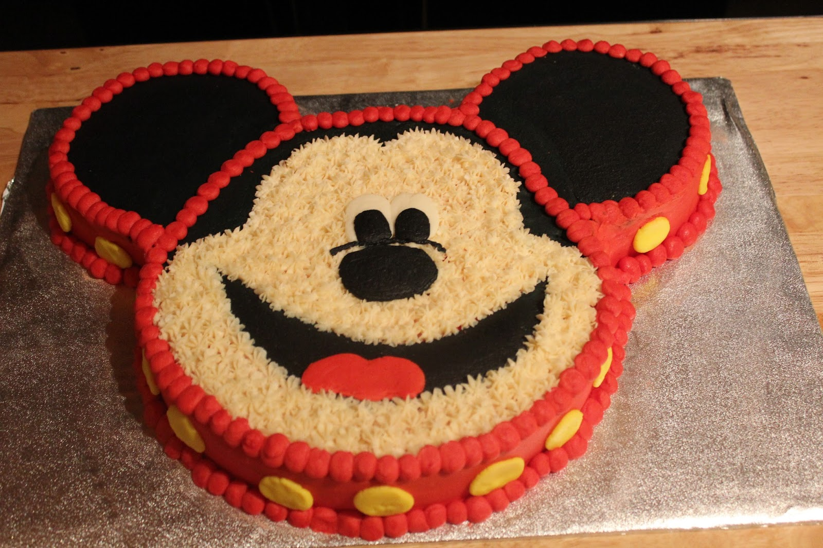 Designs By Lamuir Mickey Mouse Cake Designs By Lamuir