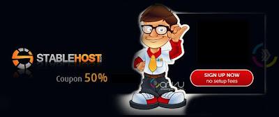 stablehost giam giá 50% hosting