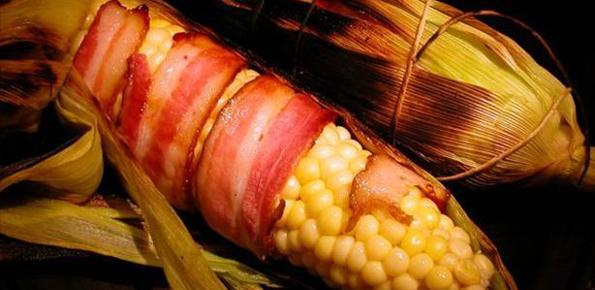 Bacon Wrapped Corn On The Cob2