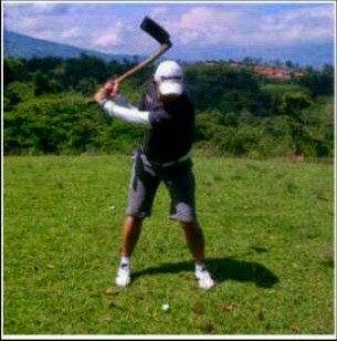 Petani Kalau Bermain Golf