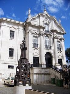 Chiesa di Sant'Antonio Lisbona / Antoniuskirche Lissabon
