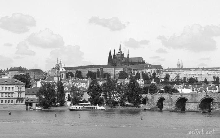 fotografía blanco y negro praga