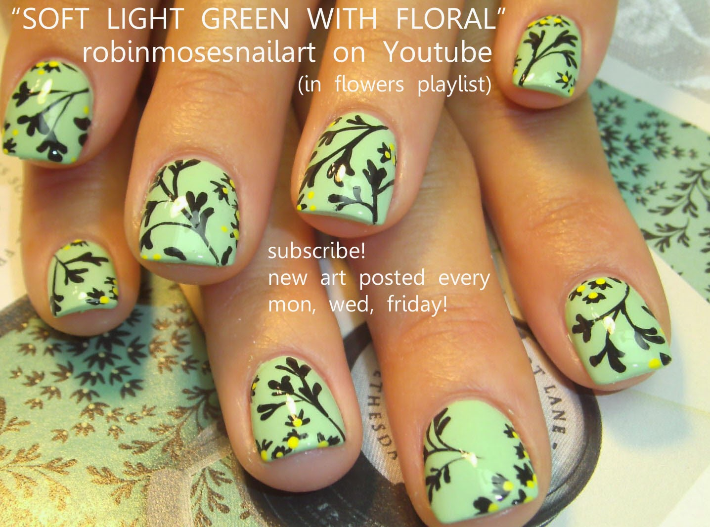 Do it yourself nail art flowers flower nails via do it yourself nail art beauty view images solutioingenieria Image collections