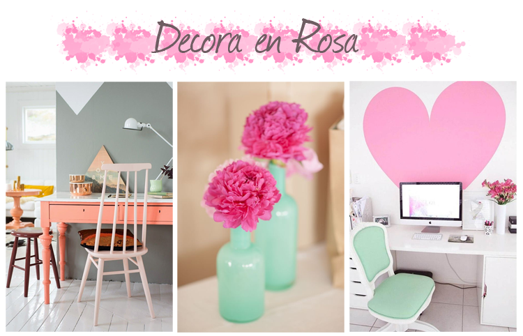 Rosa ideas decoracion