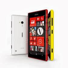 Harga Dan Spesifikasi Nokia Lumia 720 New