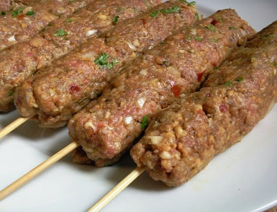Glug of Oil: Lamb Kofta Kebabs - Easy and Delicious