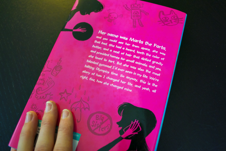 Back Cover Confessions of a So-Called Middle Child #Review