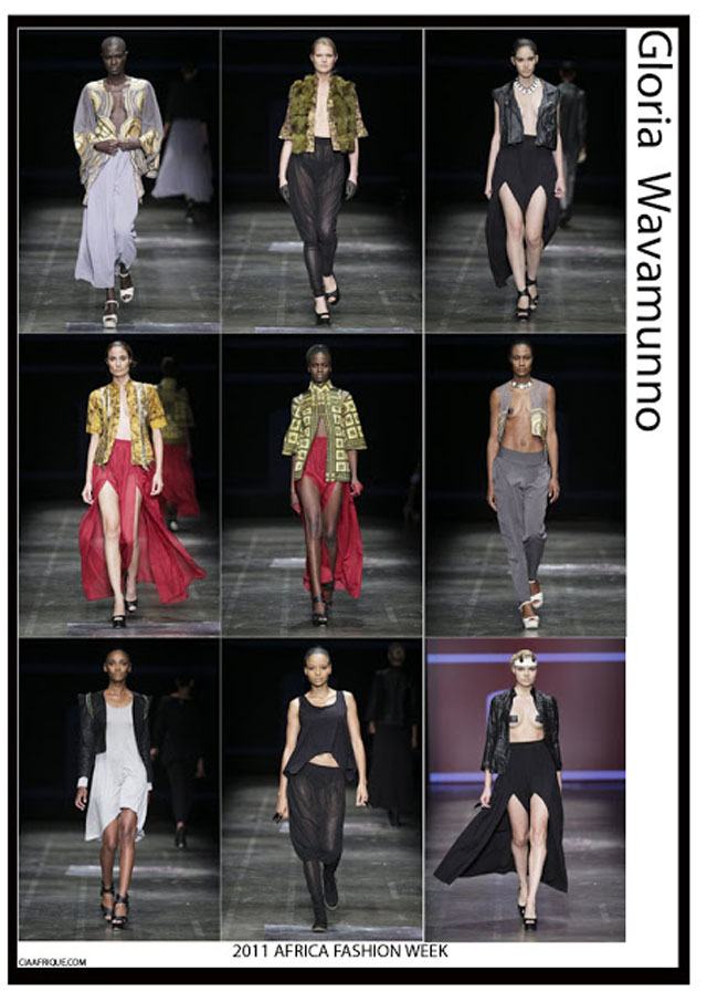 AFRICA FASHION WEEK 2011 DAY 2: MAKI OH,CHRISTIE BROWN , GLORIA WAVAMUNNO