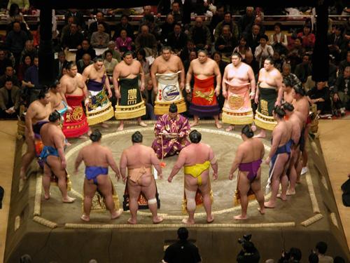 Sumo: Japanese Wrestling