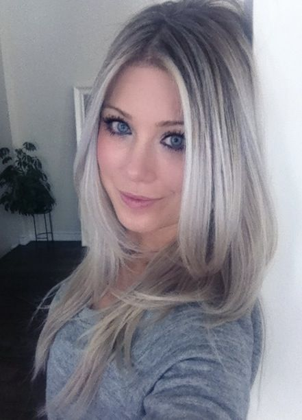 pool party hairstyles : Platinum Ombre Hairstyles! Photos and Video tutorials!