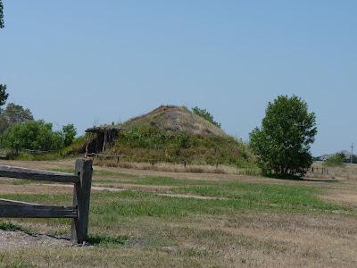 Pawnee mound