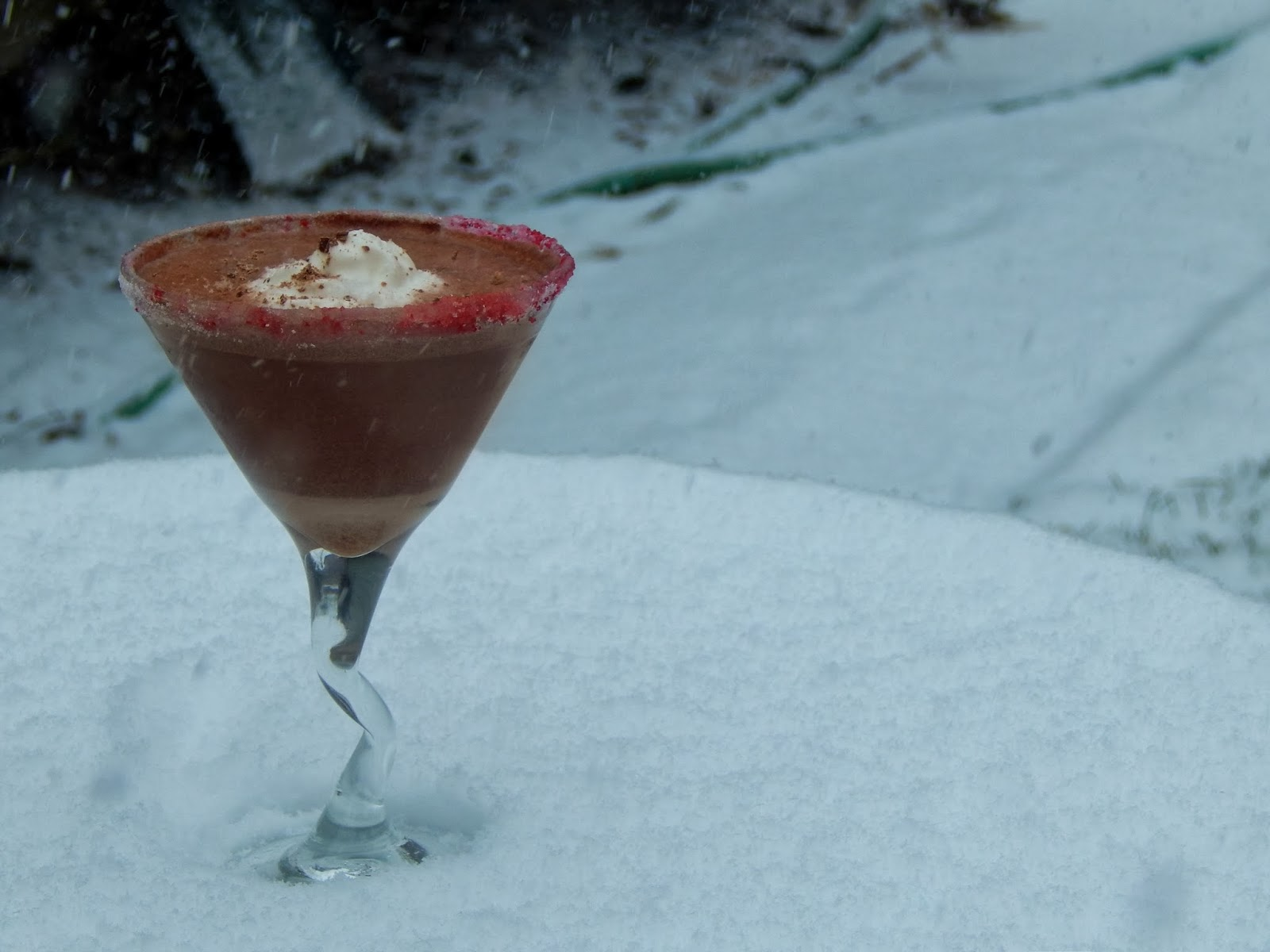Chocolate Peppermint Martini Recipe