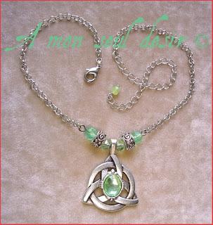 collier celte celtique viking mythologie nordique triquetra celtic celtik necklace