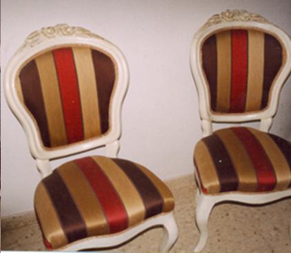 Decapar la madera y volver a tapizar dos sillas esther for Decapante para madera