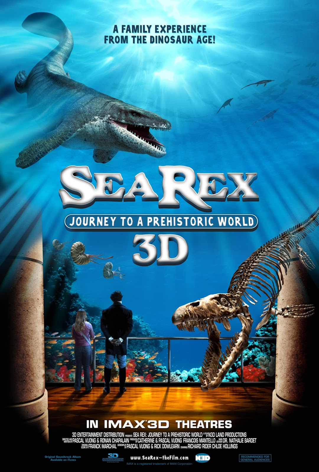 Sea Rex: Journey to a Prehistoric World – HD 720p