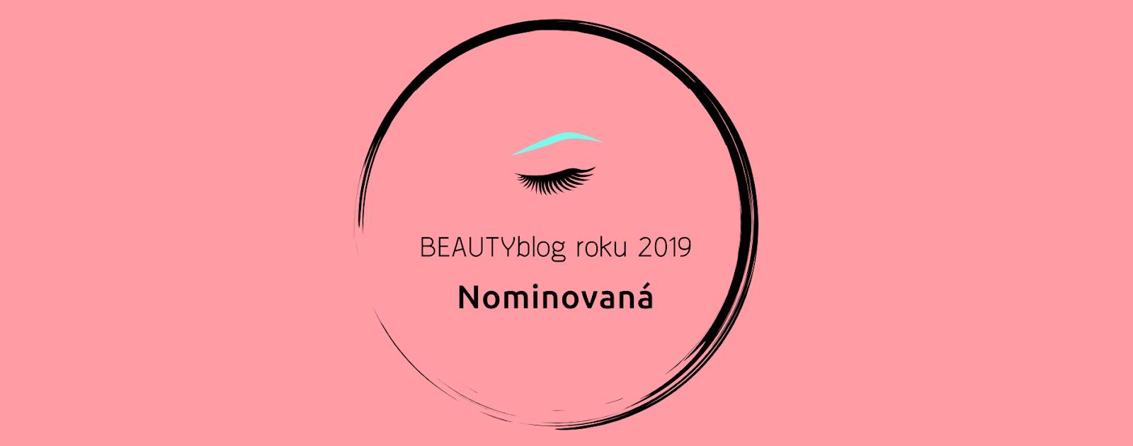 Hlasování BEAUTYblog roku 2019