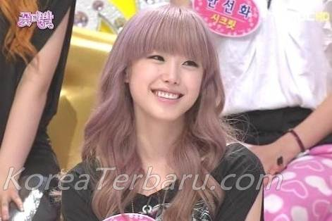 Hyosung Secret Girl band Korea Cantik