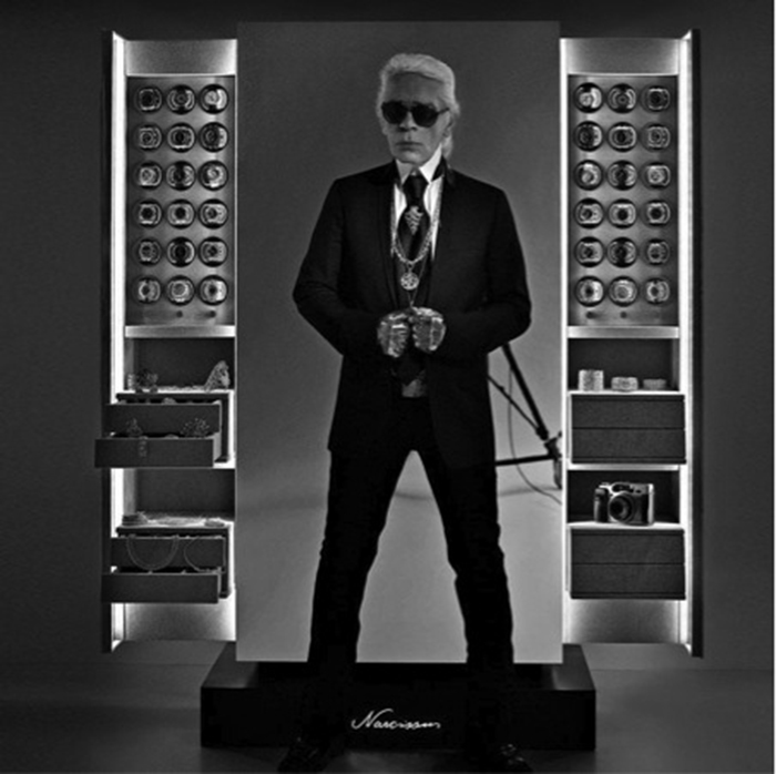 cassaforte karl Lagerfeld