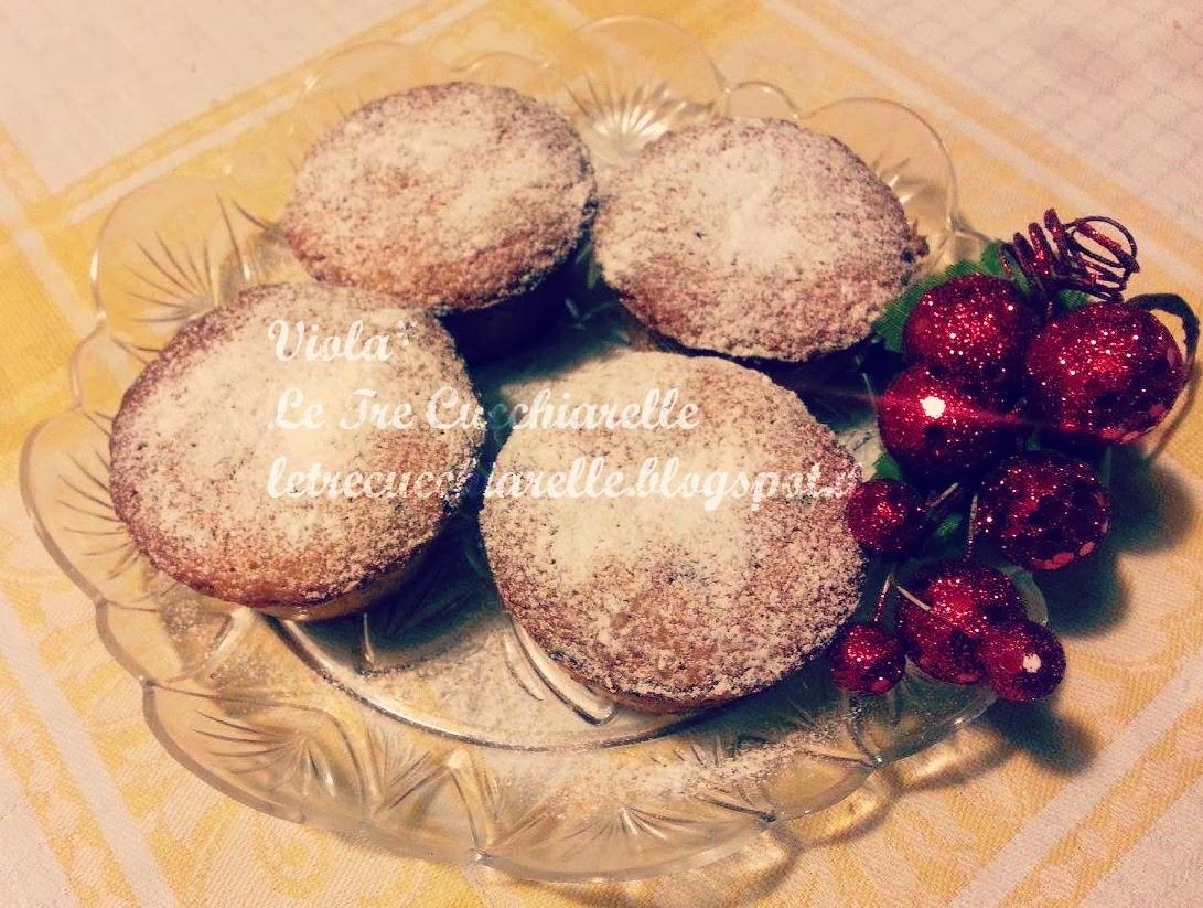 muffin al cocco con gocce di cioccolato!