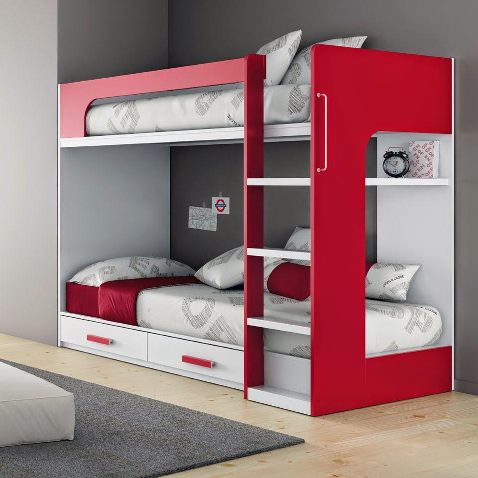 Camerette piccole soluzioni salvaspazio mobili ros - Soluzioni camere da letto piccole ...