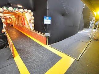Cadeirantes terão acesso ao camarote por meio de rampas