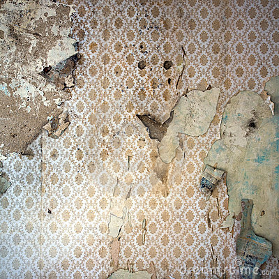 painting over wallpaper on plaster walls