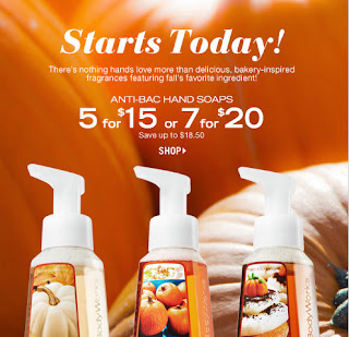 Bath & Body Works Anti-Bacterial hand Soap Deal