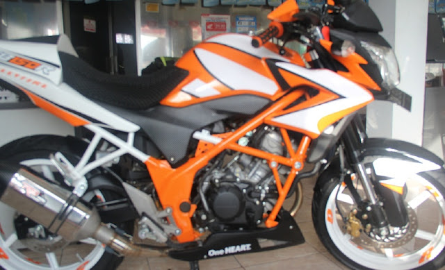 Gambar Modifikasi Honda CB150R
