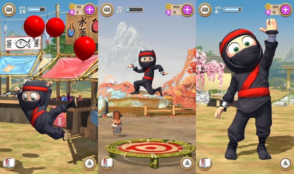 Clumsy Ninja Full Apk resimi 19