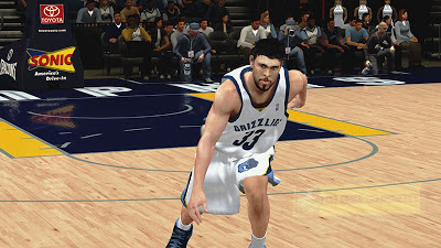 NBA 2K13 Marc Gasol Cyberface Patch