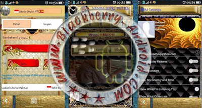 FREE BBM Mod Thema Gold Apk V2.8.0.21