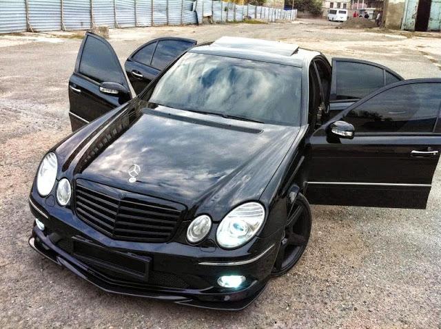 e55 amg black