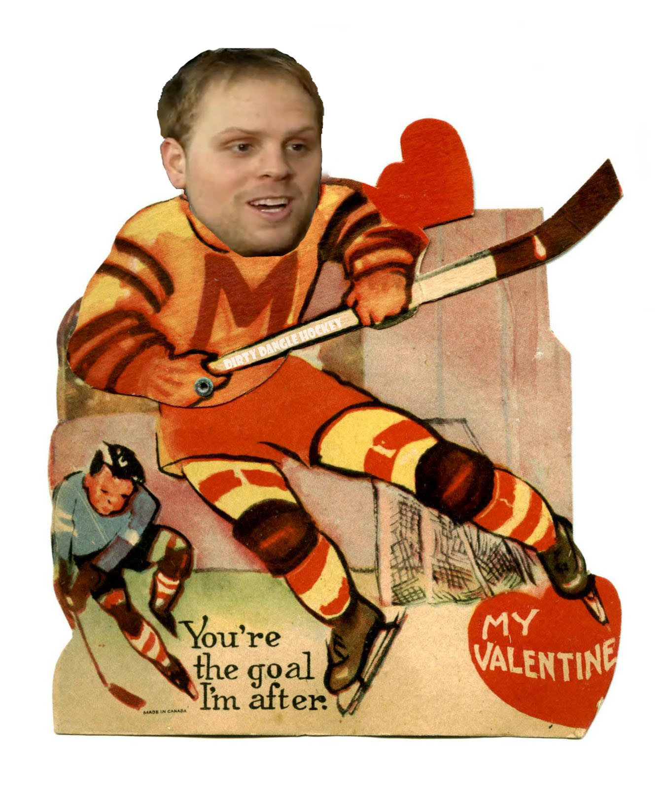 Dirty Dangle Hockey Valentines Day Hockey Cards – Hockey Valentines Day Cards
