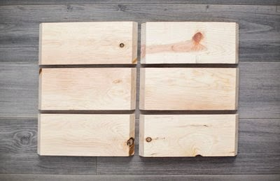 Tự chế kệ gỗ trang trí hình tổ ong
